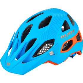 Rudy Project Protera Kask rowerowy, blue-orange matte